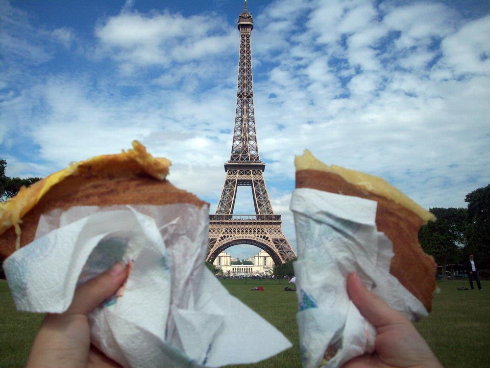 Eiffel Tower and Crepes