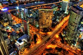 seoul night city