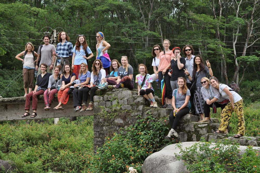 2014 Group on hike