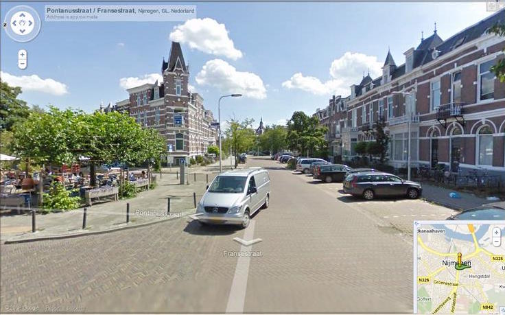 Radboud street view cropped